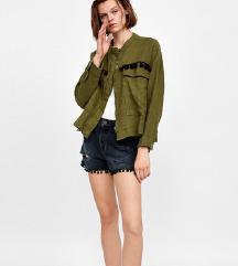 LANENA Zara jakna s pomponima M