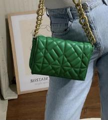 Zara famozna zelena torba