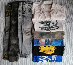 Lot  110 Benetton Zara Levis