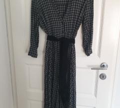 Zara haljina s pojasom