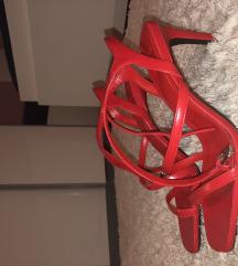Sniženo za 10% / Bershka crvene sandale