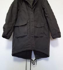 H&M Divided zimska parka/jakna s kapuljačom 42-46