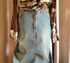 Jeans suknja 40