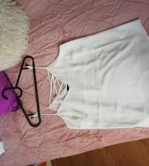 Asos dvostrana bijela majica s naramenicama