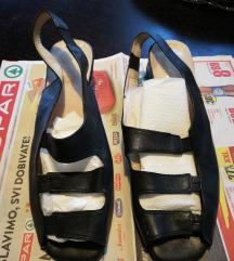 Prava koža sandale