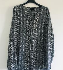 Crno bijela tunika košulja vel M-L