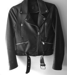 Zara kožna jakna 🖤