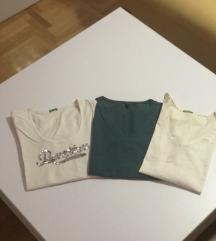 Benetton majice 3 komada