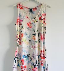 H&m maxi cvjetna haljina vel XS-S