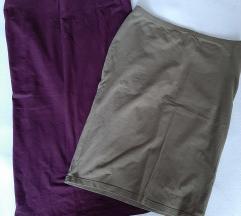 Dvije uske suknje lot
