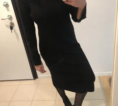 Zara vunena pulover  haljina