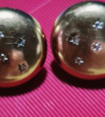 Zlatne naušnice 333 s dijamantima sada 550kn