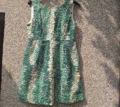 %%LOT bijelo-zelenih haljinica ZARA+ H&M
