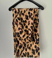Wide leg hlace leopard printa😍🐆