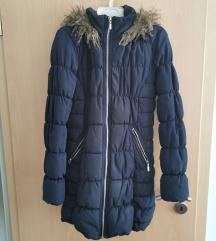 Duga jakna s kapuljačom