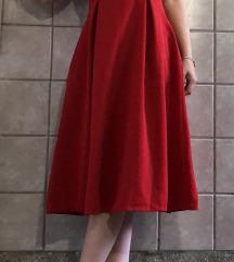 Crvena haljina 34