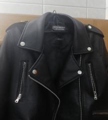 Crna kozna jakna