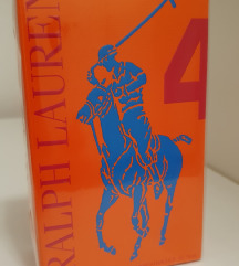RALPH LAUREN BIG PONY No.4 FOR MEN EDT 75ml