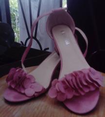 Sandale prljavo roza