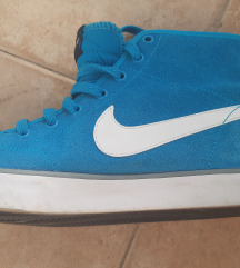 Nike plave gležnjače