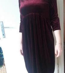 baršun haljina