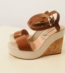Zara sandale na visoku petu