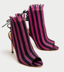 Zara pletene štikle