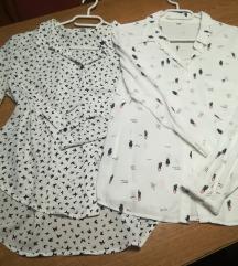Bijele cvijetne košulje po 40 kn