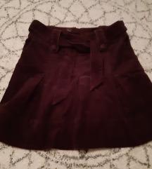 H&M suknja od samta