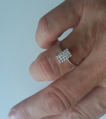 Prsten od bijeloga zlata