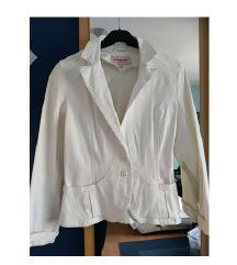 Bijela kratka jakna sako odijelo veličina S