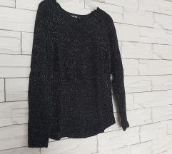 Džemper svijetlucavi tamni