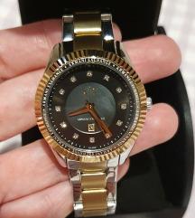 Armani srebreno zlatni ženski sat