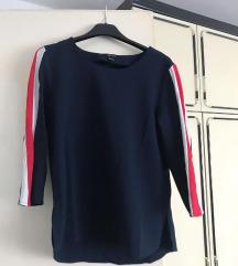 NOVA Tamnoplava bluza sa crvenim i bijelim ❤️