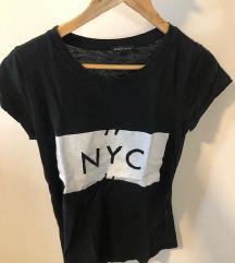 NYC crna t-shirt SMALL