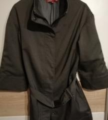 sivi kratki kaputić