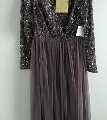 Asos maya svecana haljina sequin