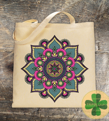 Eko Torba / Tote Bag Flower Mandala