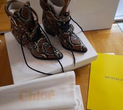 Chloe Rylee leather boots