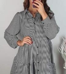 NOVA haljina/tunika na prugice
