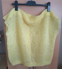 Vintage pulover bez rukava