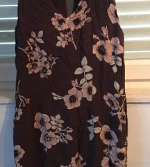 Duga maxi haljina cvjetnog printa viskoza