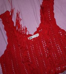 Zara pleteni top S 40kn