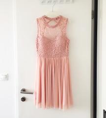 NOVA haljina od čipke i tila