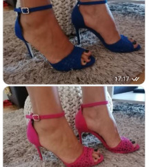 Sandale na petu 39