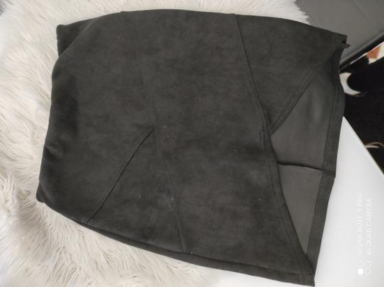 Crna antilop suknja nova