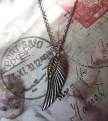 Ogrlica krila čelik