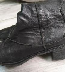CAFeNOIR super mekane crne čizme,   uklj.Tisak