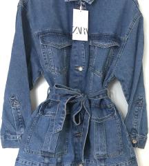 Zara nova traper jakna S