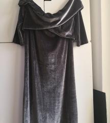 Nova Marx plišana haljina spuštenih ramena